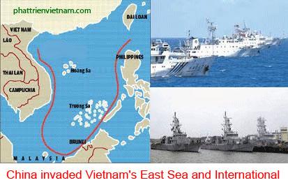 China invaded Vietnam's East Sea and International - Trung Quốc và âm mưu xâm lược bành trướng thế giới