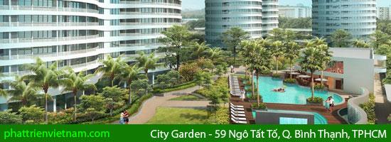 City Garden - Căn hộ cao cấp City Garden số 59 Ngô Tất Tố, Q. Bình Thạnh, TPHCM