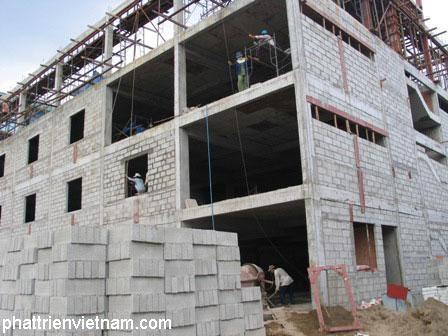 Gach Block 1 Xay nha gach nhe Gạch block, gạch  bê tông