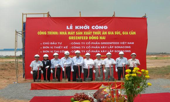 Lễ khởi công công trình GreenFeed Đồng Nai