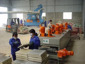 sản xuất gạch terrazzo