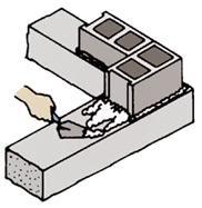 Hướng dẫn cách xây gạch block - gạch không nung ( 3 )