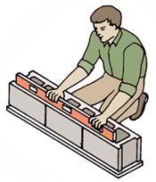 Hướng dẫn thực hiện xây gạch block - Xây gạch không nung