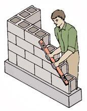 Xây gạch không nung - Gạch block