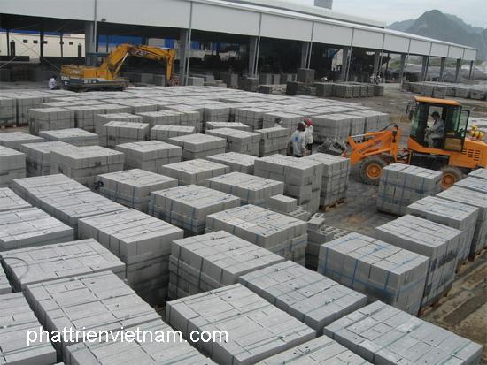 Nhà máy sản xuất gạch block xây tường KM