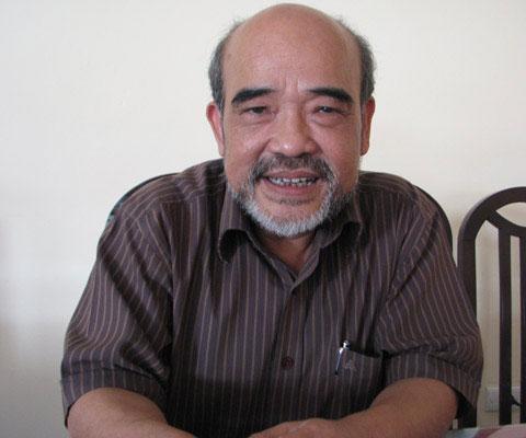Giáo sư Đặng Hùng Võ - nguyên Thứ trưởng Bộ Tài nguyên Môi trường.